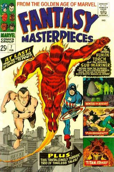 Fantasy Masterpieces #7 comic books for sale