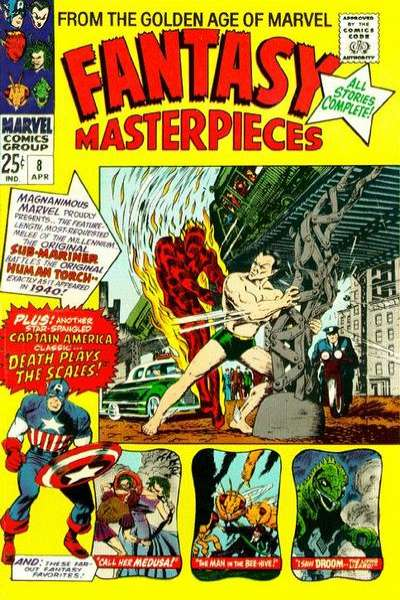 Fantasy Masterpieces #8 comic books - cover scans photos Fantasy Masterpieces #8 comic books - covers, picture gallery