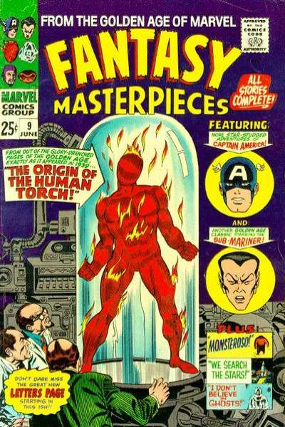 Fantasy Masterpieces #9 comic books for sale