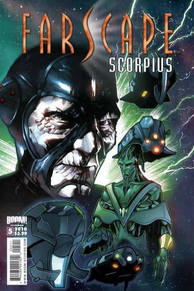 Farscape: Scorpius #5 comic books for sale
