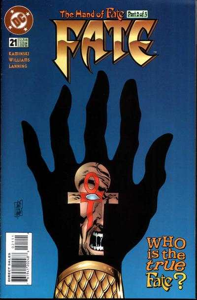 Fate #21 Comic Books - Covers, Scans, Photos  in Fate Comic Books - Covers, Scans, Gallery