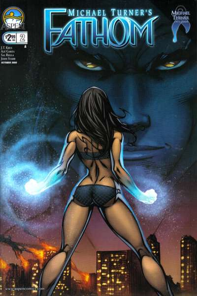 Fathom #2 comic books for sale