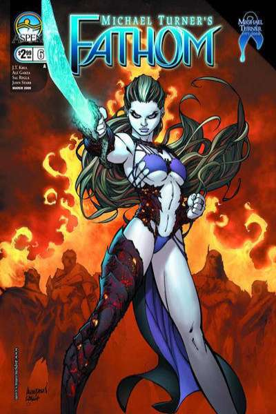 Fathom #6 comic books for sale