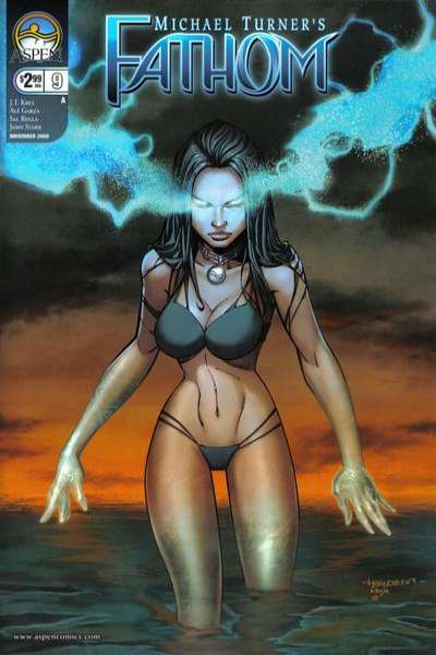 Fathom #9 comic books for sale