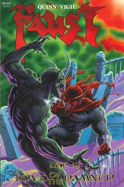 Faust #12 Comic Books - Covers, Scans, Photos  in Faust Comic Books - Covers, Scans, Gallery