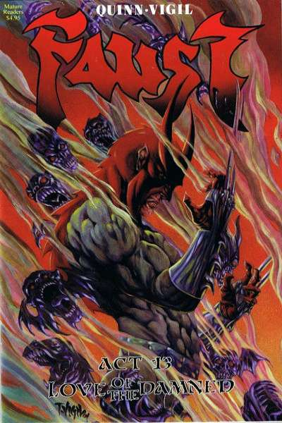 Faust #13 Comic Books - Covers, Scans, Photos  in Faust Comic Books - Covers, Scans, Gallery