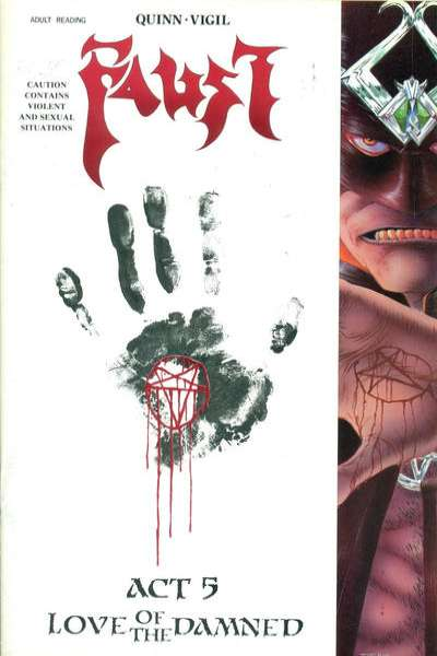 Faust #5 Comic Books - Covers, Scans, Photos  in Faust Comic Books - Covers, Scans, Gallery