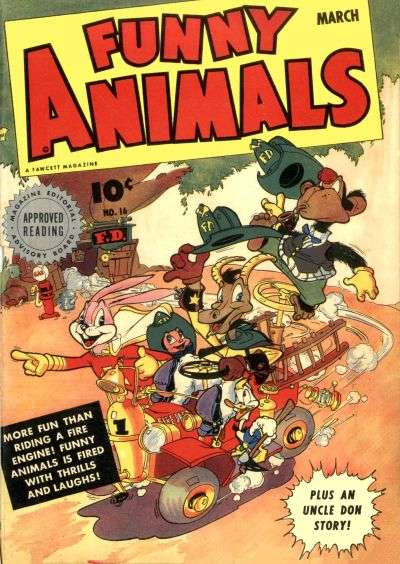 Fawcett's Funny Animals #16 comic books for sale