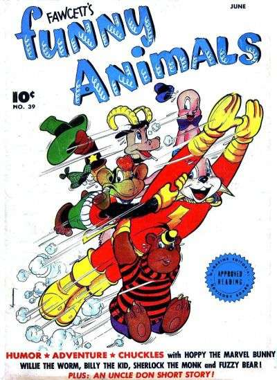 Fawcett's Funny Animals #39 comic books for sale