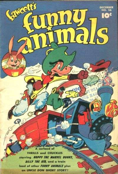 Fawcett's Funny Animals #56 comic books for sale