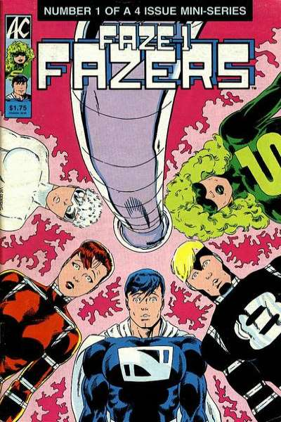 Faze One Fazers #1 comic books - cover scans photos Faze One Fazers #1 comic books - covers, picture gallery