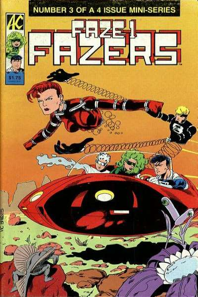 Faze One Fazers #3 comic books - cover scans photos Faze One Fazers #3 comic books - covers, picture gallery