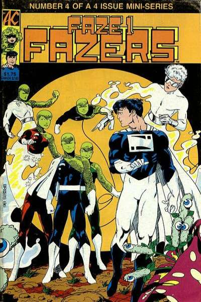 Faze One Fazers #4 comic books - cover scans photos Faze One Fazers #4 comic books - covers, picture gallery