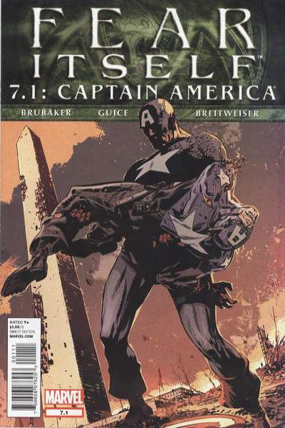 Fear Itself: Captain America #7 Comic Books - Covers, Scans, Photos  in Fear Itself: Captain America Comic Books - Covers, Scans, Gallery