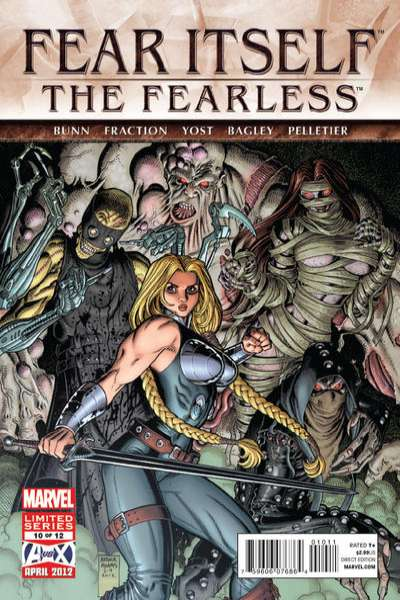Fear Itself: The Fearless #10 Comic Books - Covers, Scans, Photos  in Fear Itself: The Fearless Comic Books - Covers, Scans, Gallery