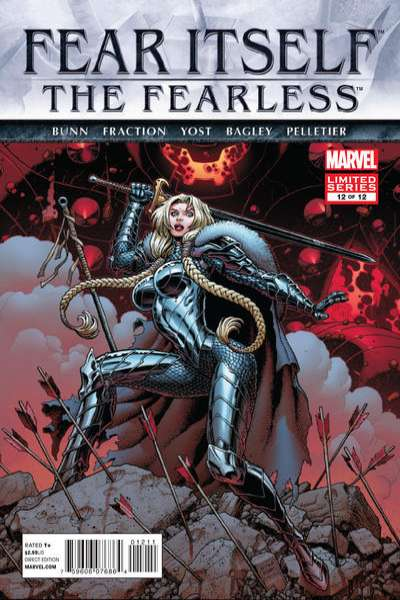 Fear Itself: The Fearless #12 Comic Books - Covers, Scans, Photos  in Fear Itself: The Fearless Comic Books - Covers, Scans, Gallery