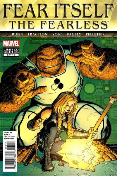 Fear Itself: The Fearless #5 Comic Books - Covers, Scans, Photos  in Fear Itself: The Fearless Comic Books - Covers, Scans, Gallery