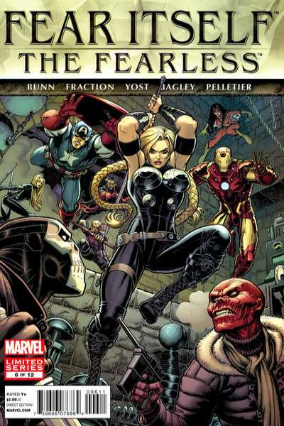 Fear Itself: The Fearless #6 Comic Books - Covers, Scans, Photos  in Fear Itself: The Fearless Comic Books - Covers, Scans, Gallery