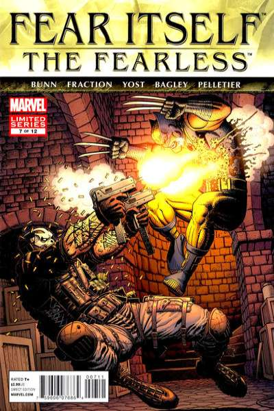 Fear Itself: The Fearless #7 Comic Books - Covers, Scans, Photos  in Fear Itself: The Fearless Comic Books - Covers, Scans, Gallery