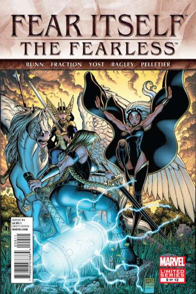 Fear Itself: The Fearless #9 Comic Books - Covers, Scans, Photos  in Fear Itself: The Fearless Comic Books - Covers, Scans, Gallery