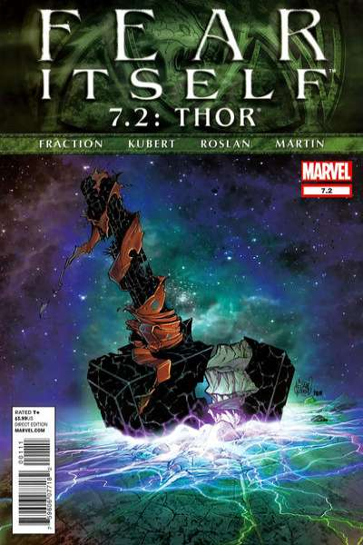 Fear Itself: Thor #7 comic books - cover scans photos Fear Itself: Thor #7 comic books - covers, picture gallery