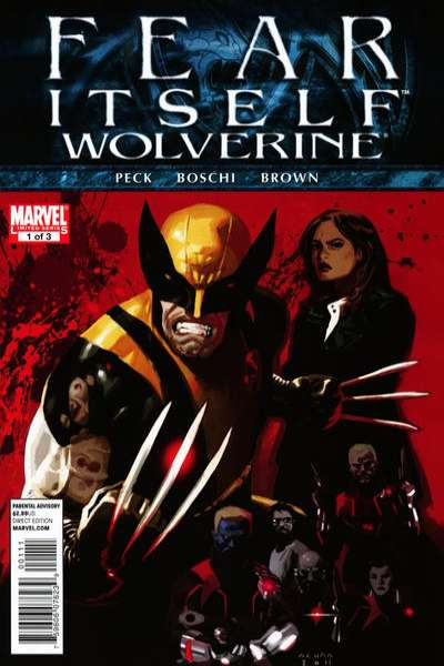 Fear Itself: Wolverine #1 comic books - cover scans photos Fear Itself: Wolverine #1 comic books - covers, picture gallery