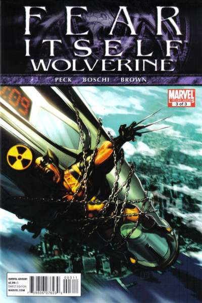 Fear Itself: Wolverine #3 comic books for sale