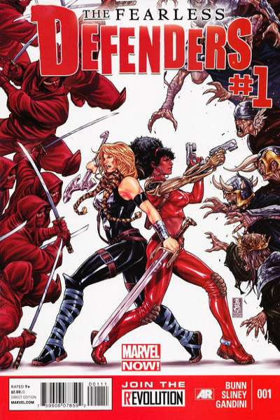 Fearless Defenders #1 comic books - cover scans photos Fearless Defenders #1 comic books - covers, picture gallery