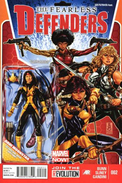 Fearless Defenders #2 comic books for sale