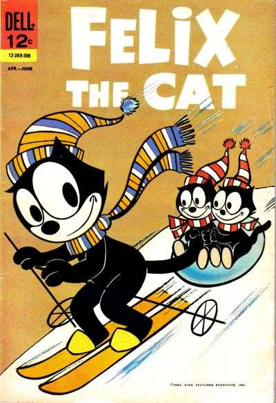 Felix the Cat #3 Comic Books - Covers, Scans, Photos  in Felix the Cat Comic Books - Covers, Scans, Gallery