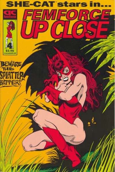 FemForce Up Close #4 comic books for sale