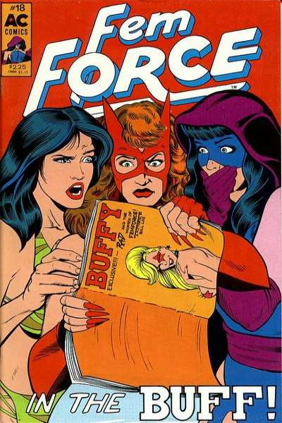 FemForce #18 Comic Books - Covers, Scans, Photos  in FemForce Comic Books - Covers, Scans, Gallery