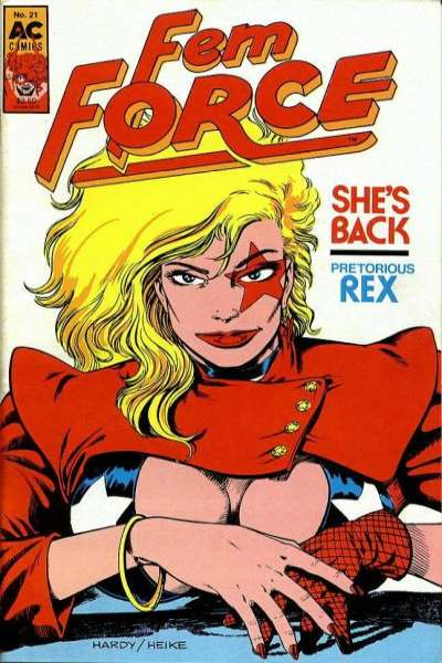 FemForce #21 Comic Books - Covers, Scans, Photos  in FemForce Comic Books - Covers, Scans, Gallery