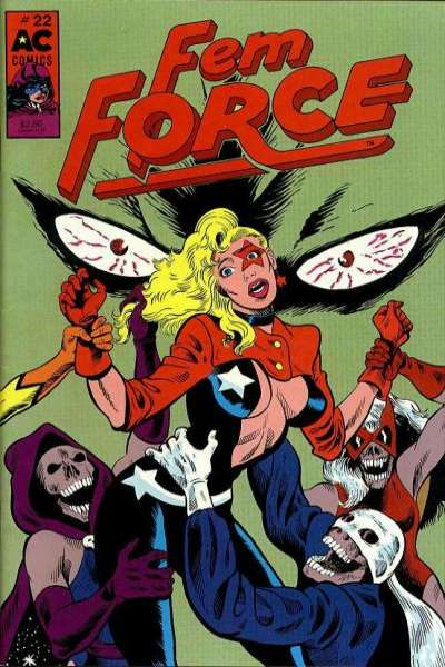 FemForce #22 Comic Books - Covers, Scans, Photos  in FemForce Comic Books - Covers, Scans, Gallery