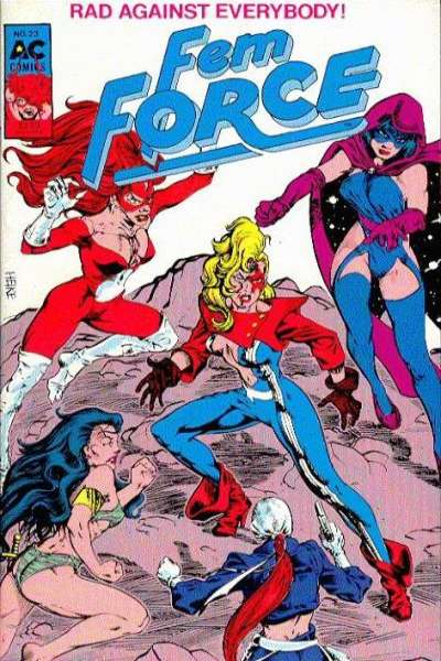 FemForce #23 comic books for sale