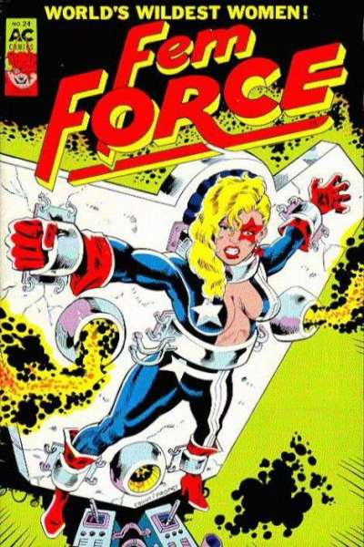 FemForce #24 comic books for sale