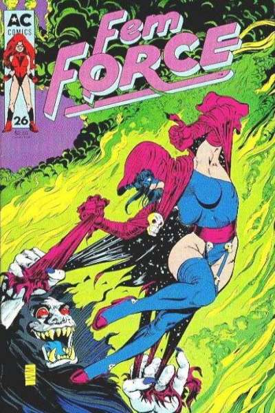 FemForce #26 comic books for sale