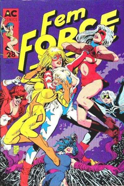 FemForce #28 comic books for sale