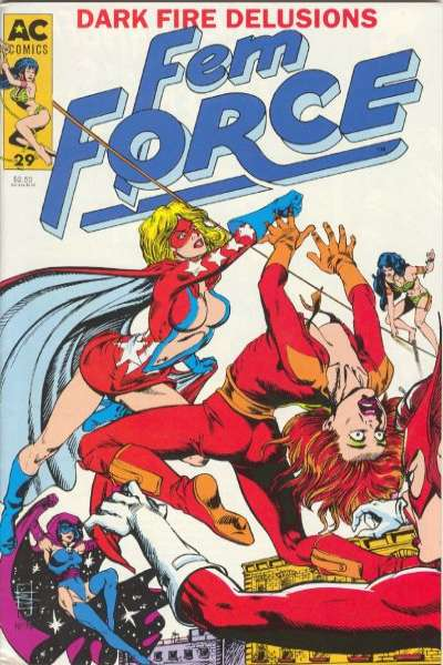 FemForce #29 comic books for sale