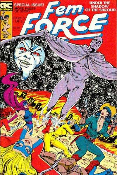 FemForce #36 comic books for sale
