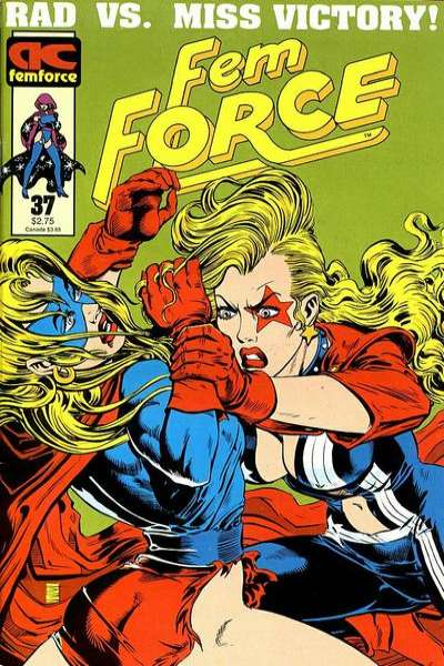FemForce #37 comic books for sale