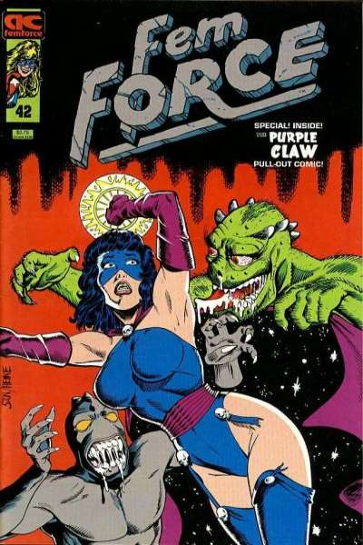 FemForce #42 comic books for sale