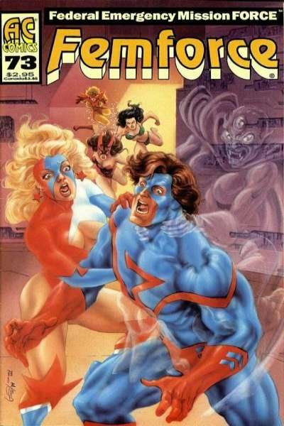 FemForce #73 comic books for sale