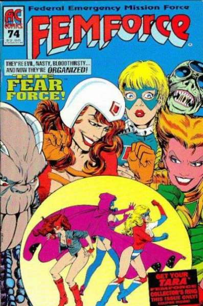 FemForce #74 comic books for sale