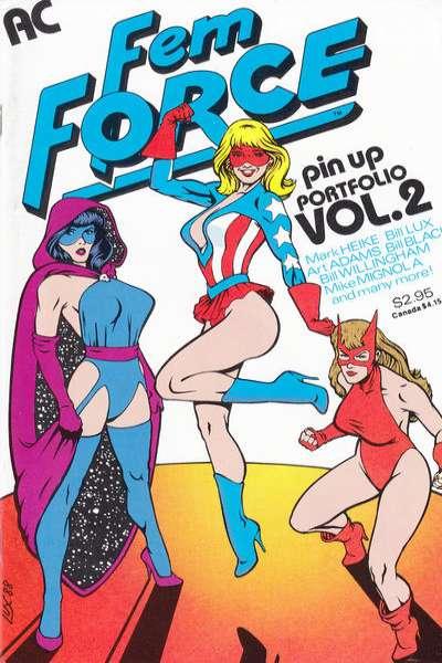FemForce #2 comic books for sale