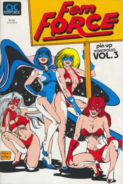 FemForce #3 comic books for sale