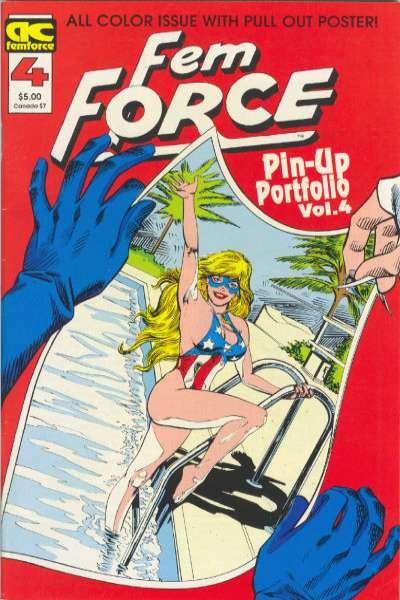 FemForce #4 comic books for sale