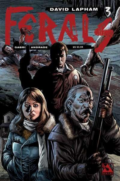 Ferals #3 comic books for sale