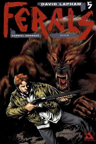 Ferals #5 comic books for sale
