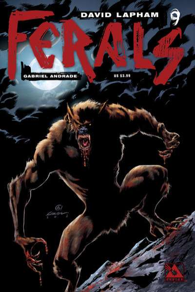 Ferals #9 comic books for sale
